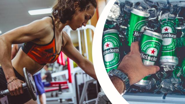 öl och träning
